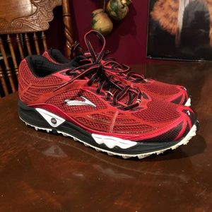 Brooks Cascadia Red Trail Running Shoes
